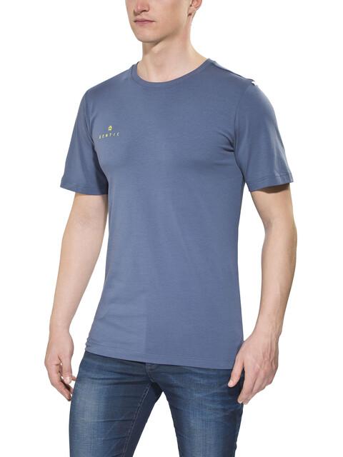 Gentic New School - T-shirt manches courtes Homme - bleu